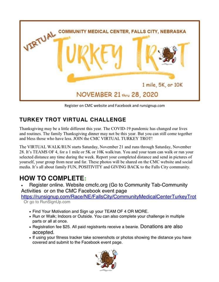 Turkey Trot for CMC 2020