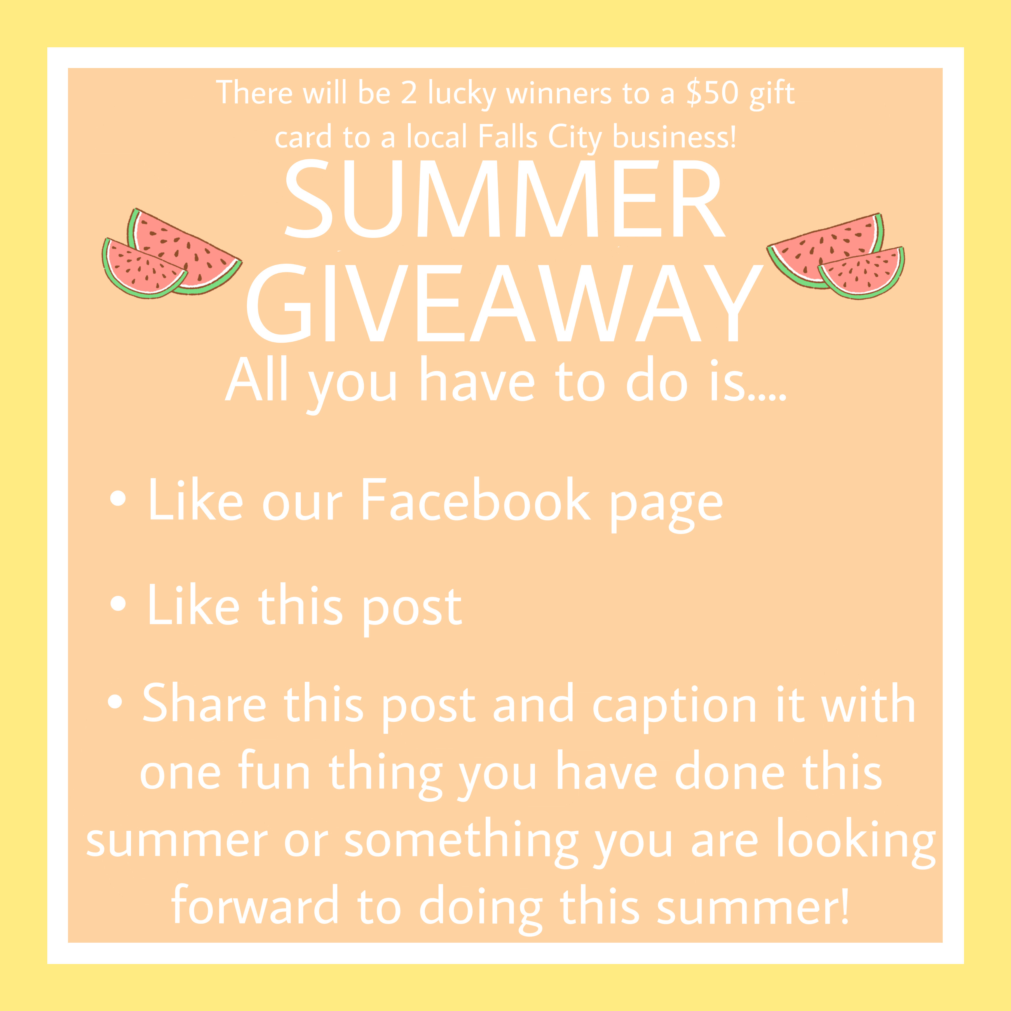Summer Giveaway 2020